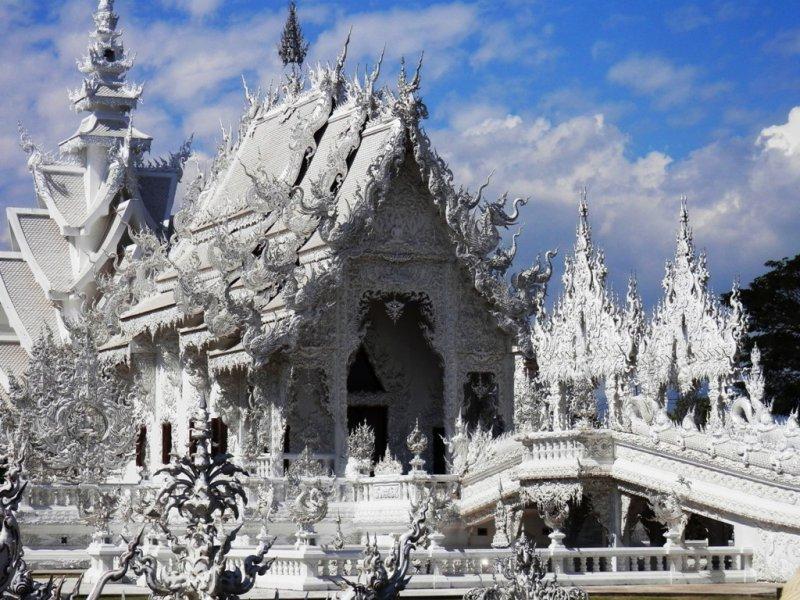 143 weisser Tempel Wat Rong Khun bei Chiang Rai 1